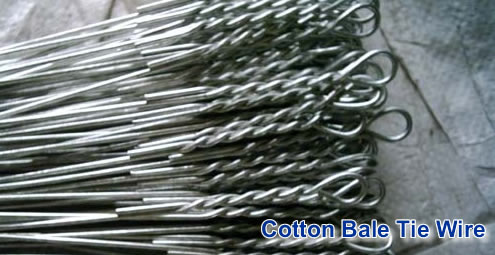 Cotton Bale Tie Wire
