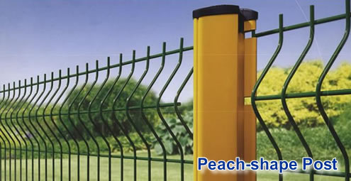 Peach-shape Post