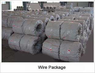 Galvanised wire package