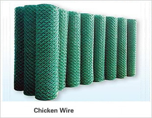 Chicken Wire - Surface Treatments - Black, Galvanized, PVC